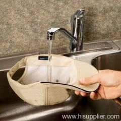 hydrophilic n hydrophobic cooling cap