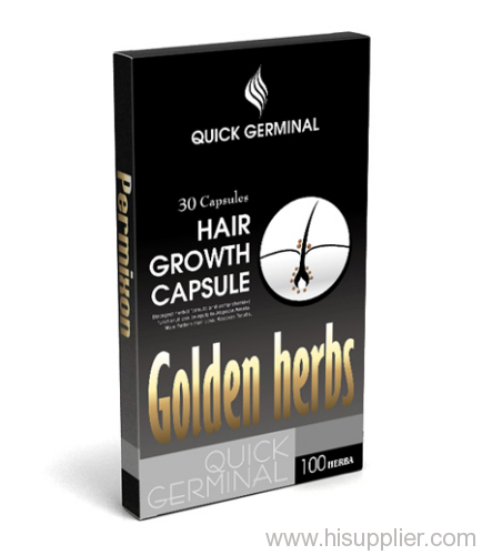 Golden hair regrowth products