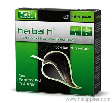 Natural hair loss regrowth products