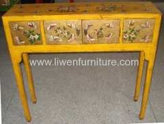Asia furniture painting tables