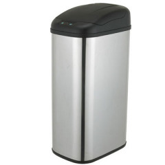 automatic garbage cans
