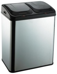 stainless waste bin