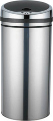 stainless trash cans
