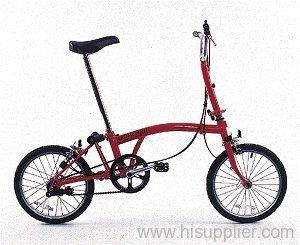 Brompton folding bicycle manufacturer from Indonesia Sakai