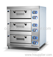 gas baking oven(3-deck 6-tray)