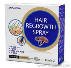 Hair regrowth spray OEM private label