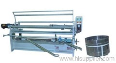 Automatic edge vertical diagonal cloth rolling machine