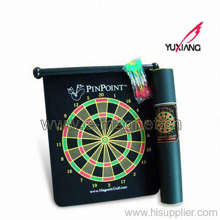 Roll-up Magnetic Dartboard, Safe Game for Family