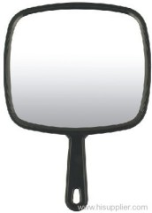 Plastic handle mirror