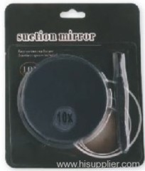 Suction mirror & tweezer with card