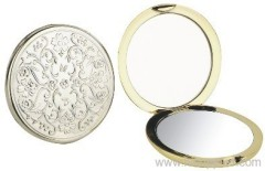 Plastic pocket mirror