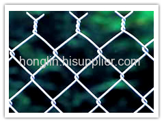 galvanized wire chain link fences