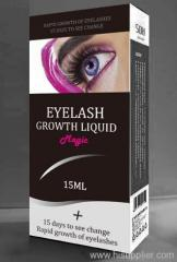 Natural eyelashes growth liquid