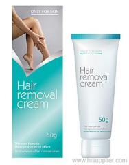 Herbal hair removal cream