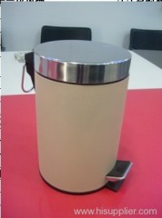 7L paint coating mirror flat head circular bin