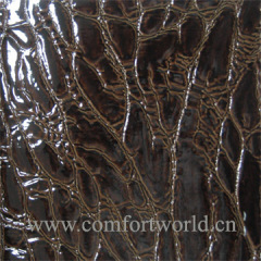 Embossing Leather PU Material