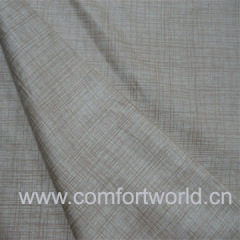 Warp Suede Sofa Fabric With Bronzing