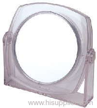 Plastic table mirror