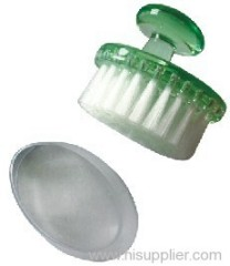 Plastic facial brush
