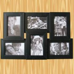 6black combination photo frames
