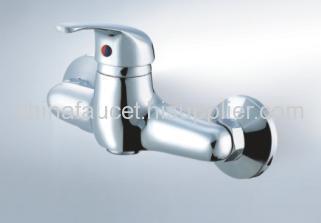 brass shower faucet