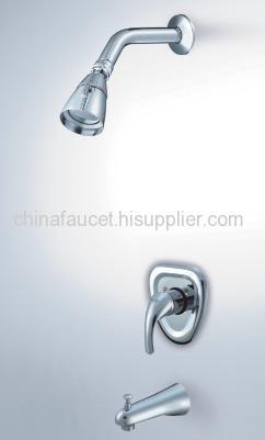 wall mounted bathtub tap