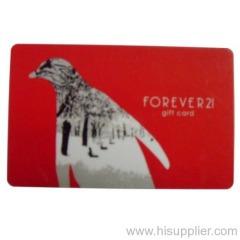 pvc phone card