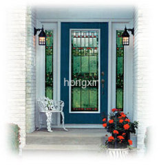 Fiberglass door window