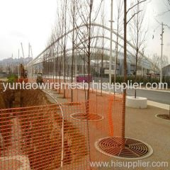 Barrier Netting for Road Side Construction