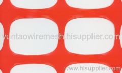 HDPE UV Stabilized Orange Barrier Netting