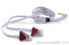 Heartbeats In ear headphone Rose Red