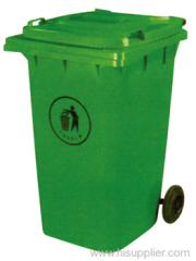 HDPE trash can