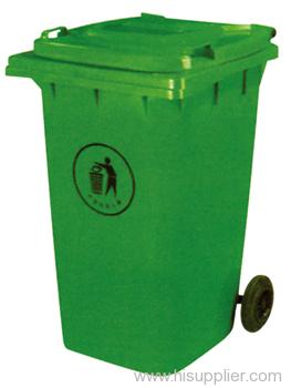 HDPE trash can