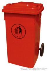 plastic litter bin