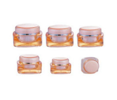cosmetic acrylic jar 5ml
