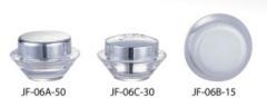 saucer acrylic jar