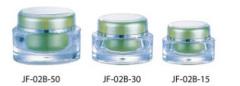 Oval acrylic Jar