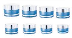 200ml acrylic cosmetic jar