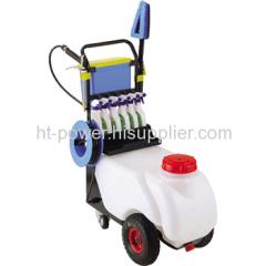 Electric trolly car washer