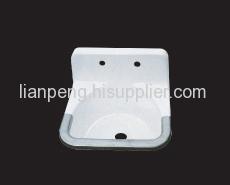 cast iron washing basin