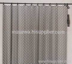 fireplace curtain screen