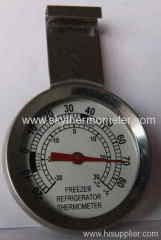 ss hanger refrigerator thermometers