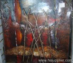 Commercial Abstract Oil Painting