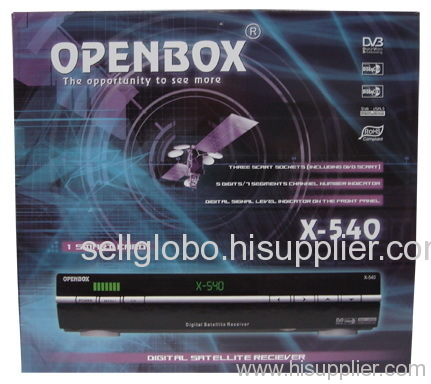 Openbox X540 satellite receiver openbox x540 manufacturer from China