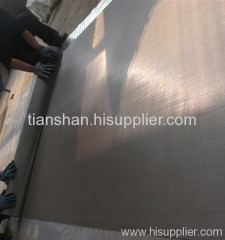 stainless steel knitted square wire mesh