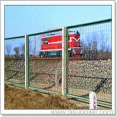 electro galvanized wire mesh fence