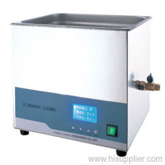 10L Laboratory Benchtop Stainless Steel Ultrasonic Cleaner (Heatable)