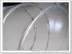 single loop razor barbed wire