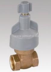 plastic handle valve