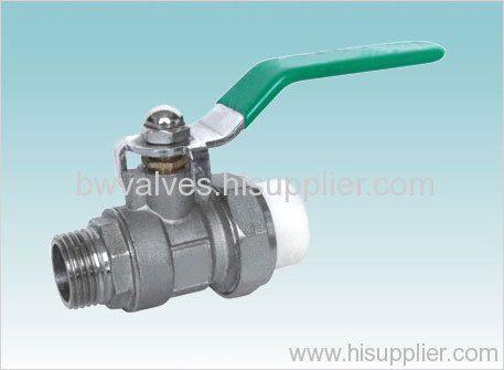 T handle brass ball valve